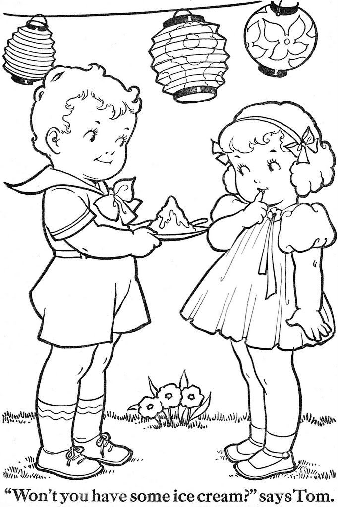 Coloring Book Blue Ribbon Coloring Books Vintage Coloring Books Coloring Book Pages