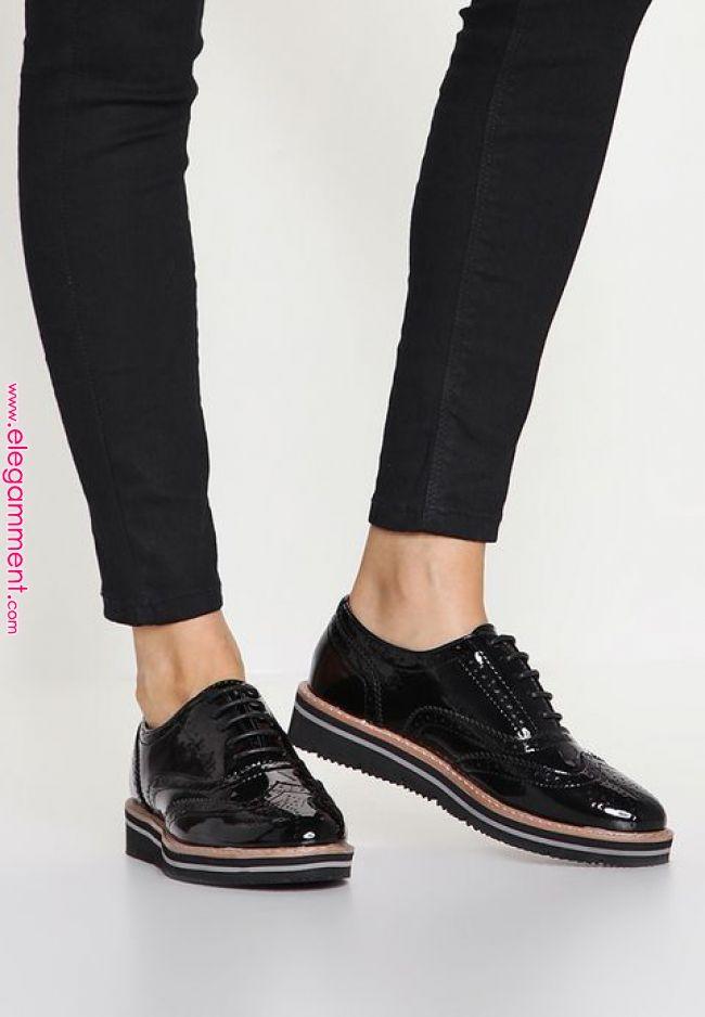 Anna Field Derbies Black Zalando Fr Purseszalando Women Oxford Shoes Black Oxford Shoes Oxford Shoes Black