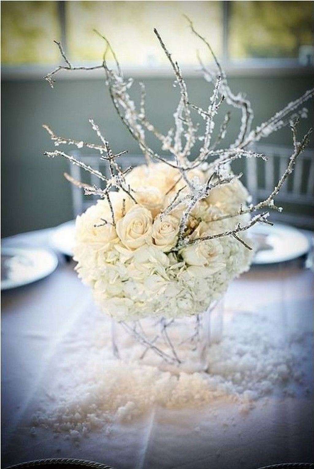 10+ Beautiful Winter Wedding Centerpieces | Winter wedding ...