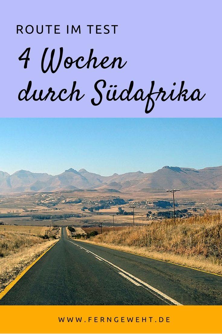 4 Wochen dauerte meine Reise durch Südafrika. Was hat auf meinen Roadtrip gut geklappt, was hätte besser sein können?