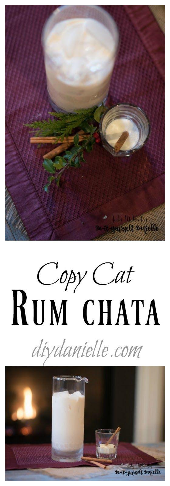 Copycat Rum Chata - DIY Danielle #easymixeddrinkrecipes