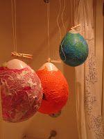 Making Lanterns For Martinmas Balloon Lanterns Diy Lanterns Crafts