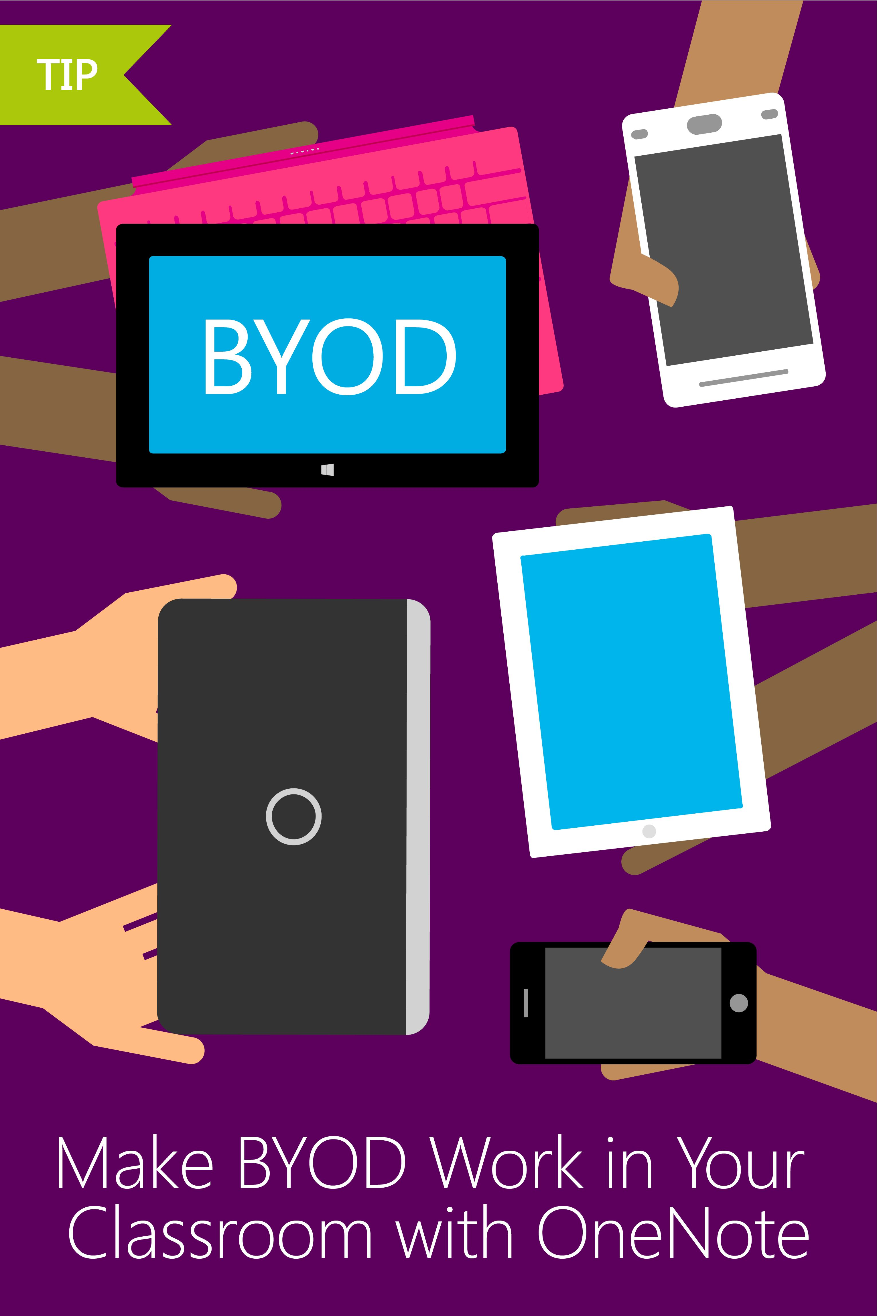 Read Tips From A Real Educator On How Onenote Cl Notebooks Can Make Byod Work In