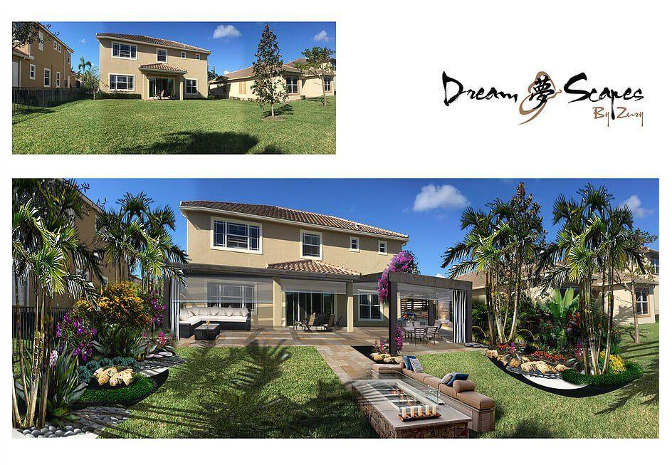 backyard landscaping | Commercial landscaping, Luxury ... on Backyard Beach Landscape Design id=59019