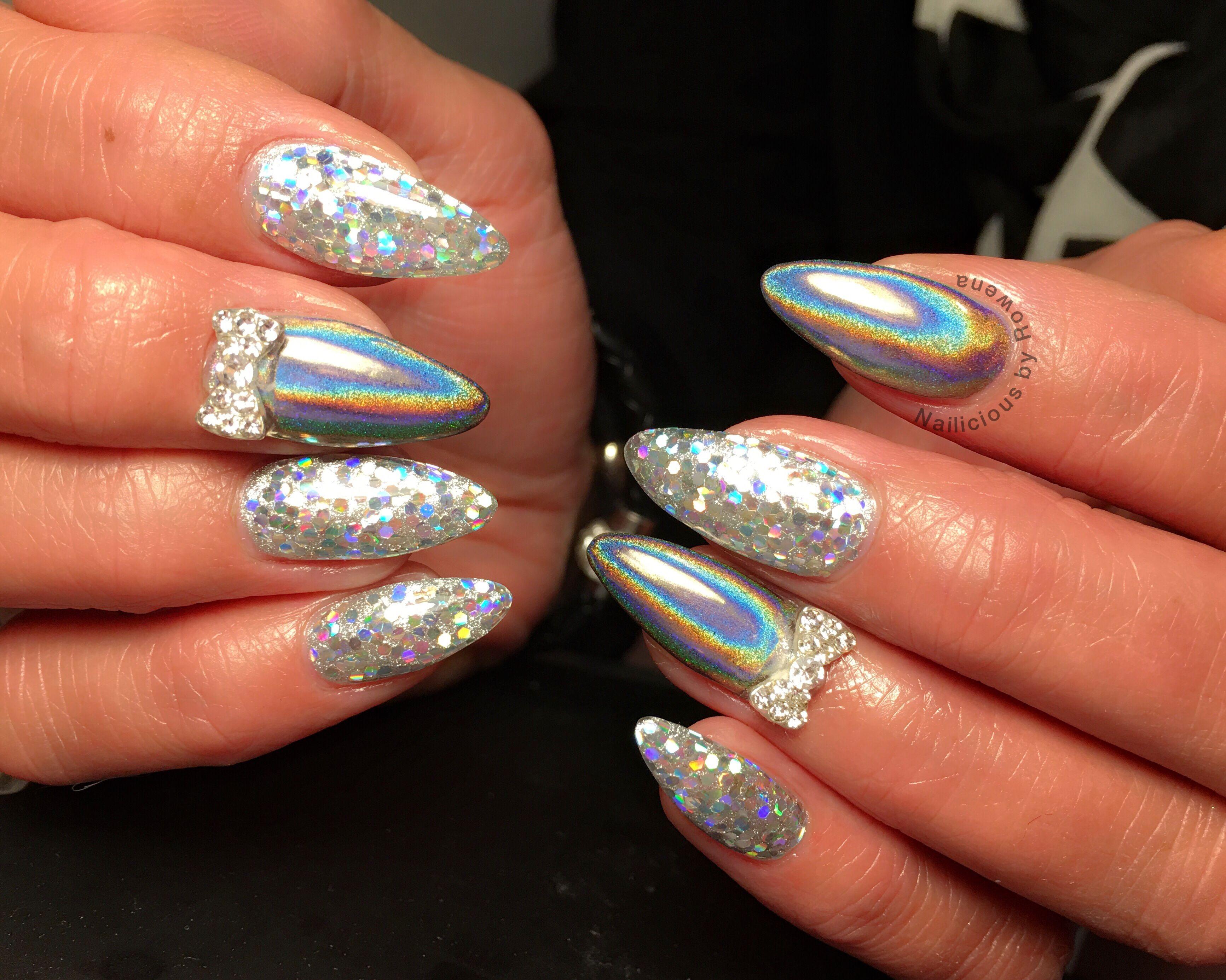 Holografic nails aka unicorn | Nails | Pinterest | Unicorns, Sparkly ...