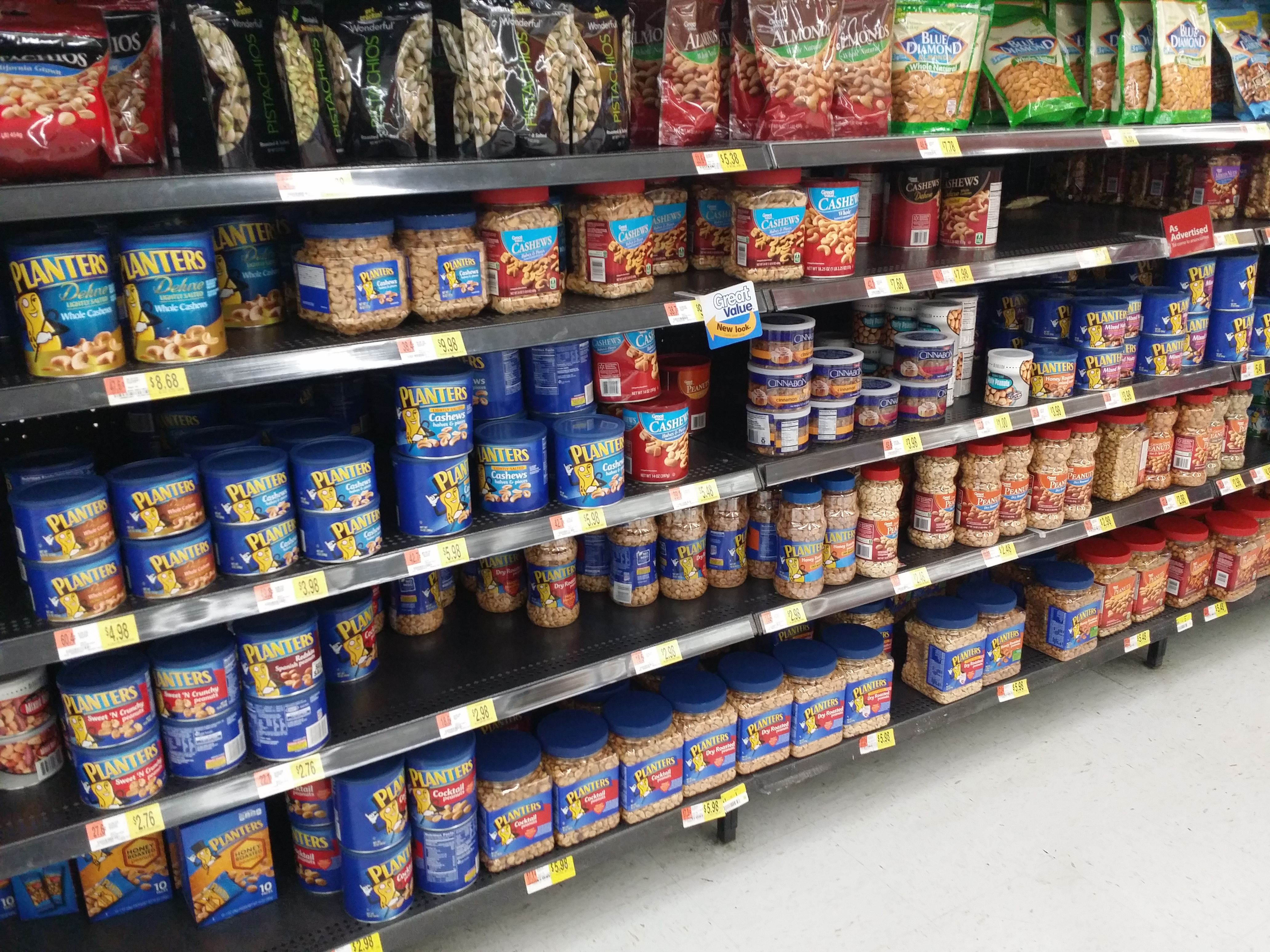 I See Lots Of Snack Nut Jars At #Walmart That