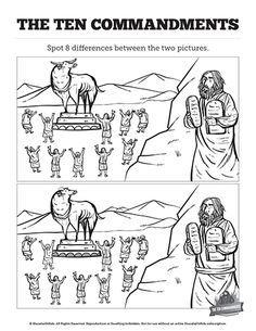 Moises E A Idolatria Do Bezerro De Ouro Atividades Para Criancas