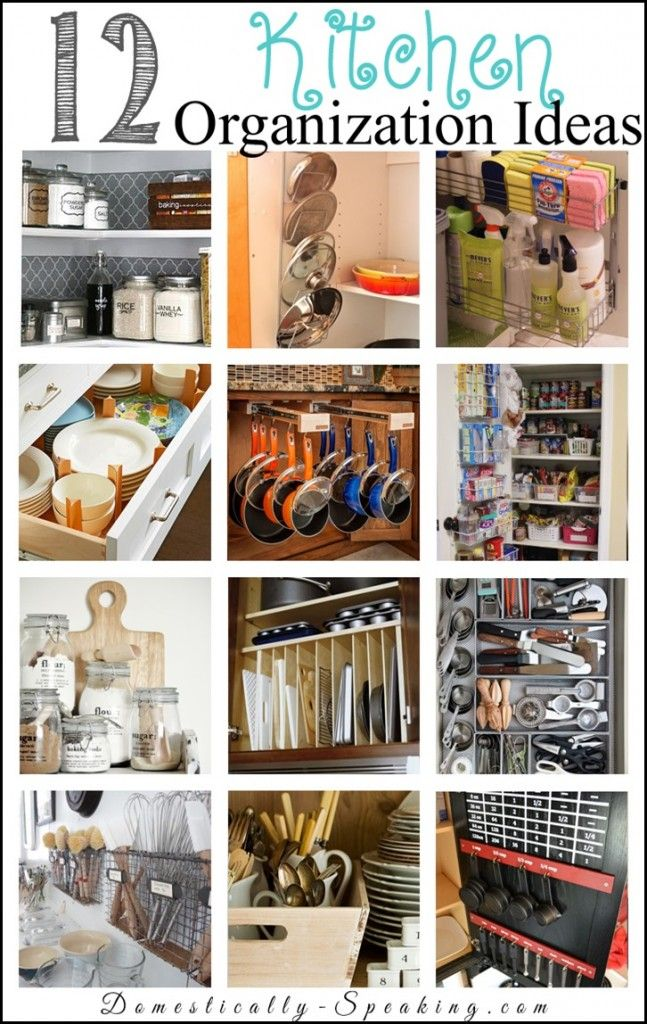 12 Küche Organisation Ideen Aufbewahrung und