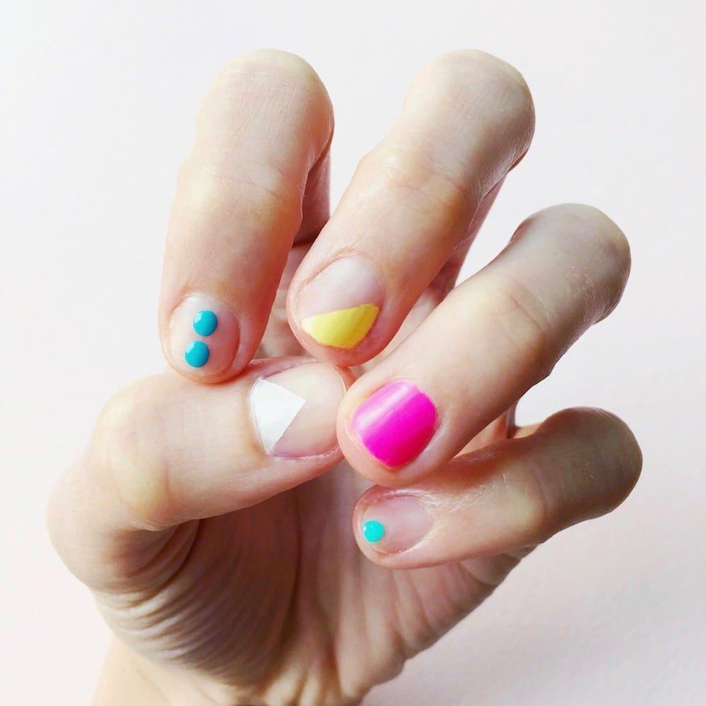 Attraktiv Nageldesign Sommer 2017 Referenz Von Diy Minimal Manicure #10 - Farbenfrohe Ideen