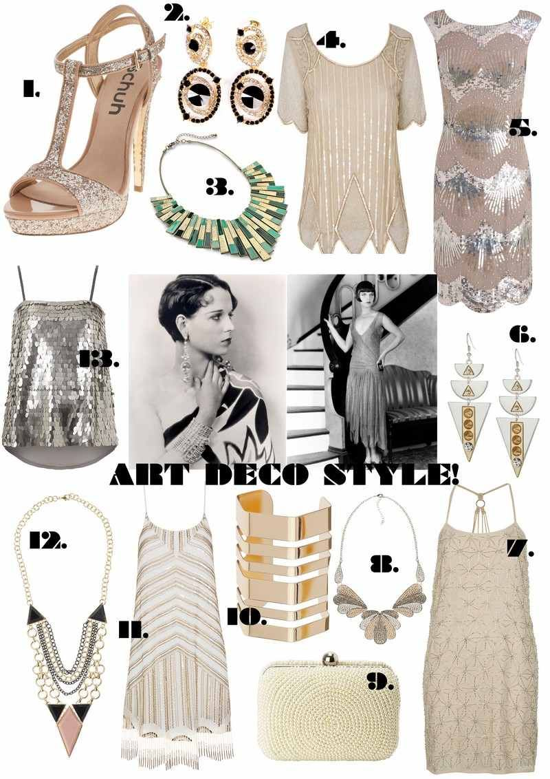 8c5d89a652ac7a Robe charleston années 20 et tenues inspirées par Gatsby le ...