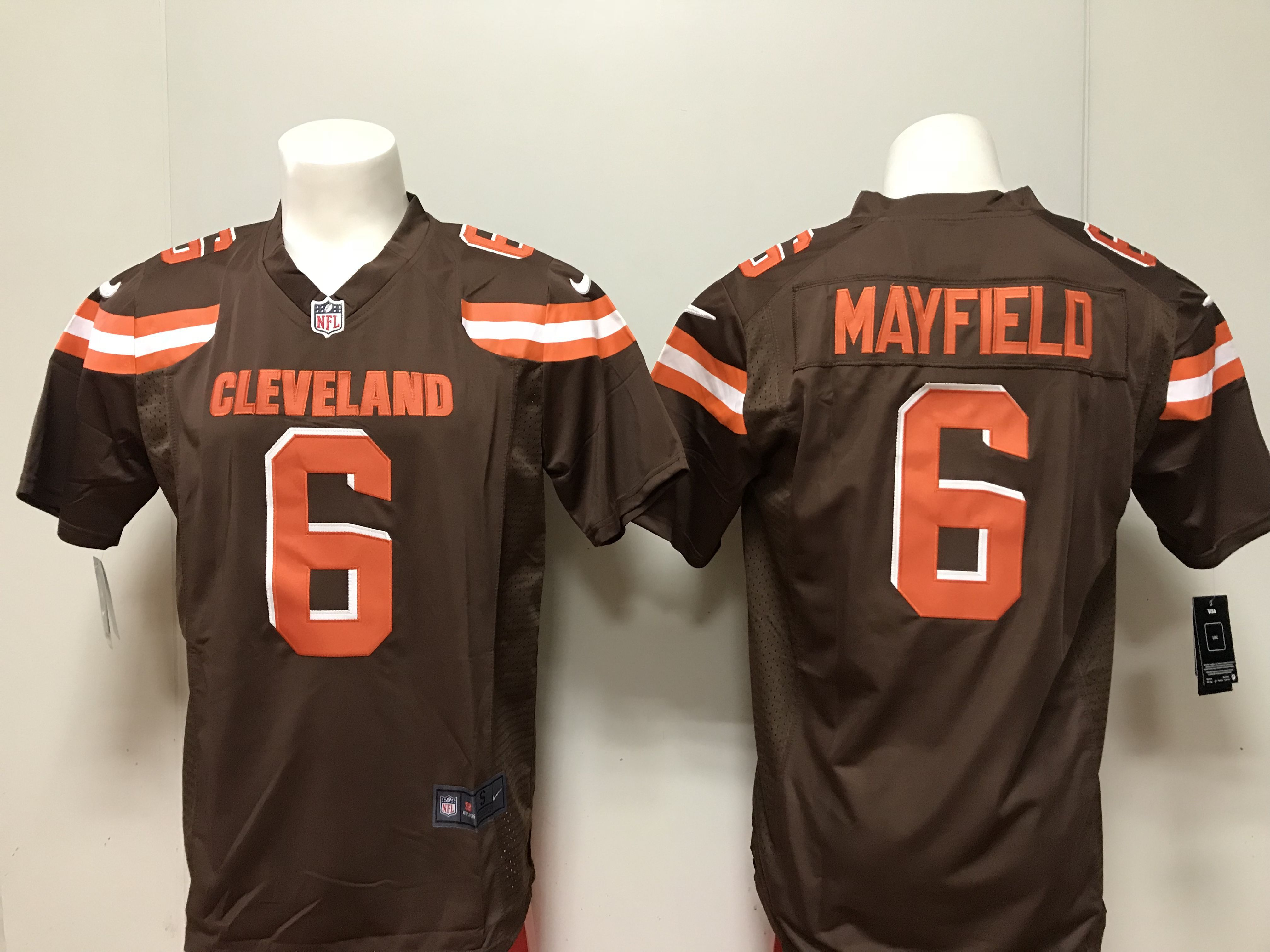 2a5e6a0ac823 spain game nike orange womens baker mayfield alternate jersey nfl 6  cleveland browns 04026 b0e82