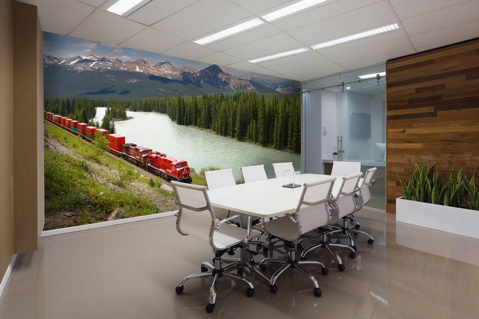 Inšpirácia na fototapetu do kancelárie | DIMEX