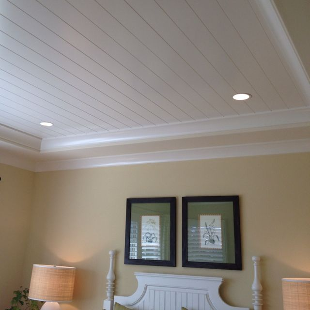 Wood paneled ceiling pinterest for ipad cozy home for Wood trim ceiling ideas