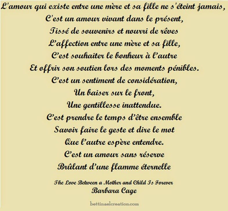 Poeme barbara cage the love between a mother and child for Savoir se servir d un multimetre