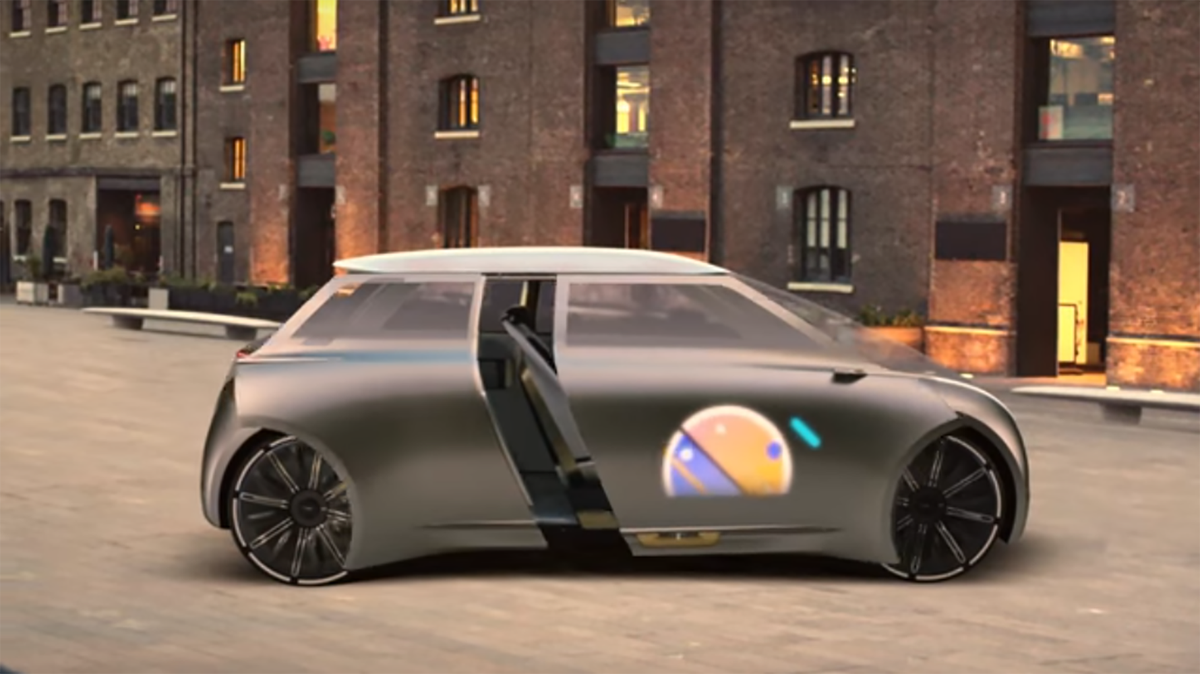Colour changing car technology - This Car Amazingly Changes Color Based On The Driver S Mood