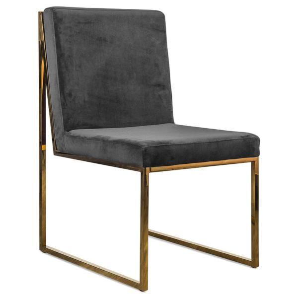 Goldfinger Dining Chair in Velvet