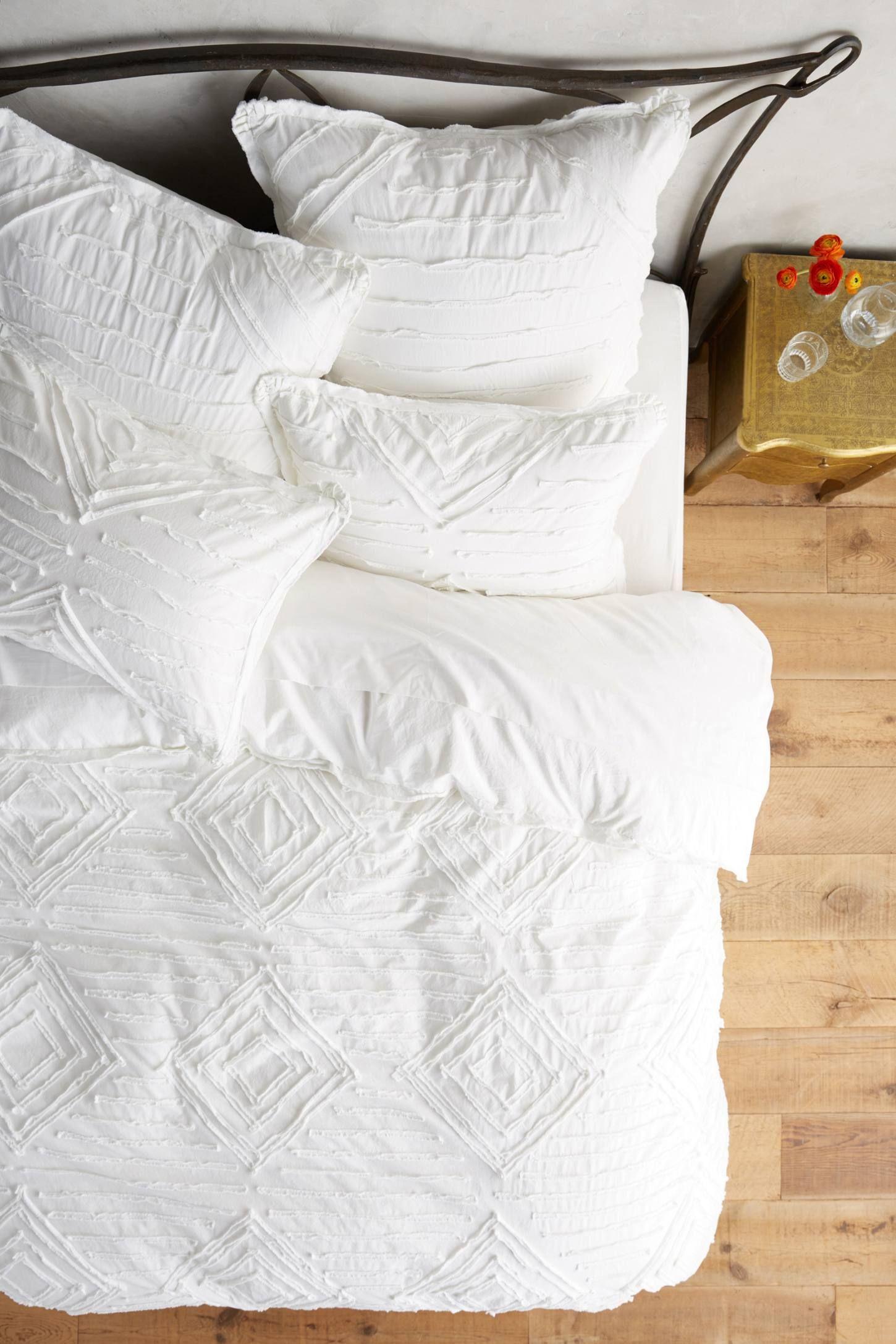 Textured Vesper Duvet Contemporary Bed Linen Bed Linen Design Bed Linen Sets