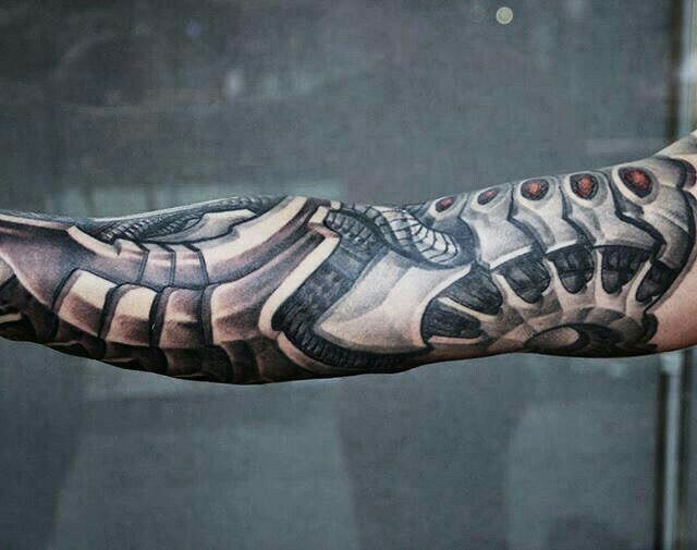 Pin By C S On Tattoos Biomechanical Tattoo Biomechanical Tattoo Design Cyborg Tattoo