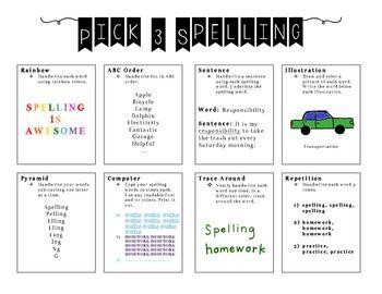 Do my spelling homework