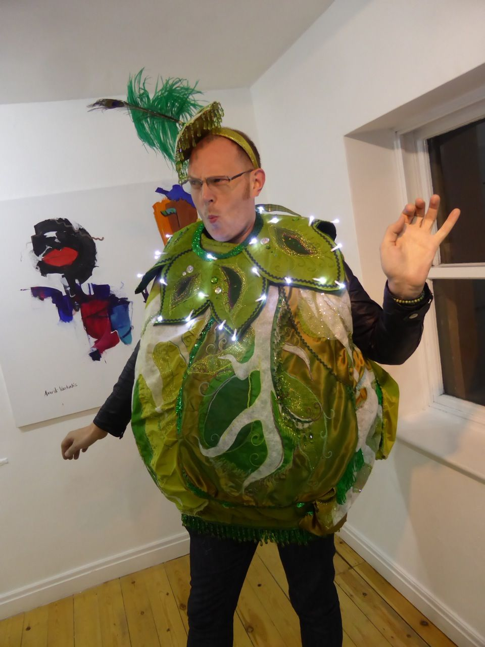 Light Up Brussel Sprout Costume Costume Inspiration