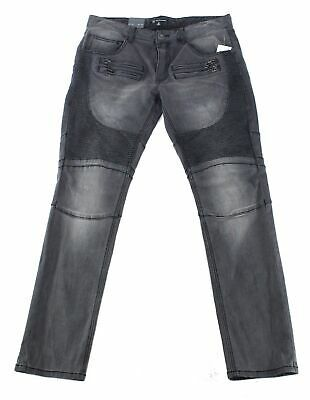 INC Mens Jeans Black Size 34X32 Skinny Fit Moto Washed Zip-Fly Stretch $79 #058 #fashion #clothing #shoes #accessories #men #mensclothing (ebay link)