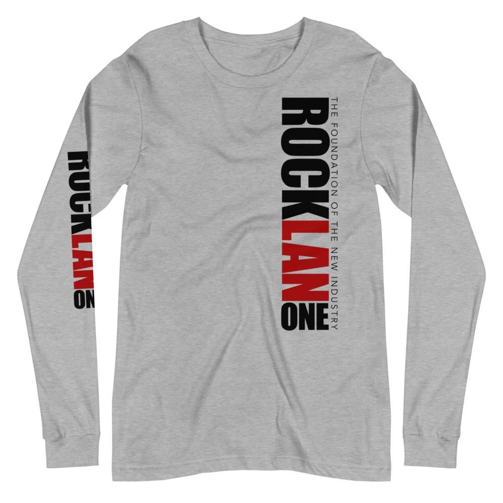 RockLan One Long Sleeve Grey Shirt – M