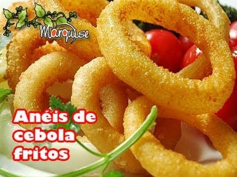 COMO FAZER ONION RINGS DO BURGER KING | Ana Maria Brogui #45 - YouTube