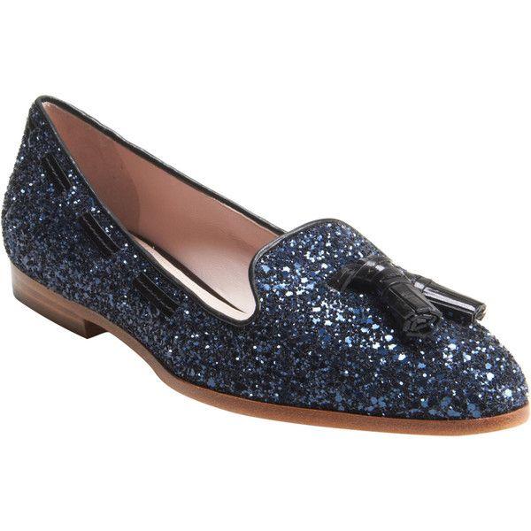 Miu Miu Tassel Glitter Loafers outlet big sale discount marketable geniue stockist sale online low shipping fee for sale 1oL1w5