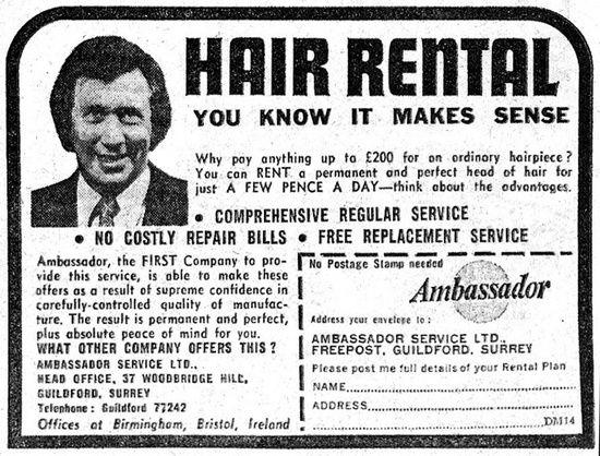 Hair Rental.