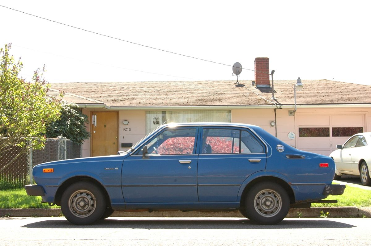 1979 Toyota Corolla Sedan ~my first new car $4,000 bucks at $80 ...