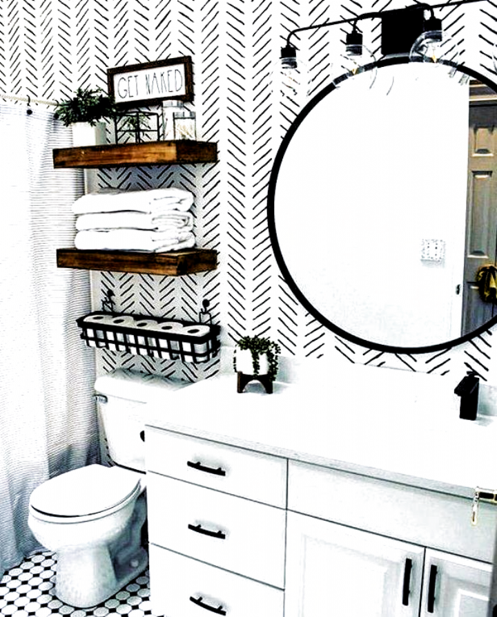 8 Small Bathroom Decorating Ideas You Have To Try In 2020 Small Bathroom Decor Bathroom Decor Modern Bathroom Decor