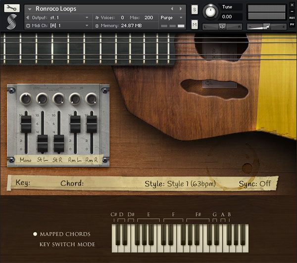 Free Ronroco Virtual Instrument for Kontakt | Download now