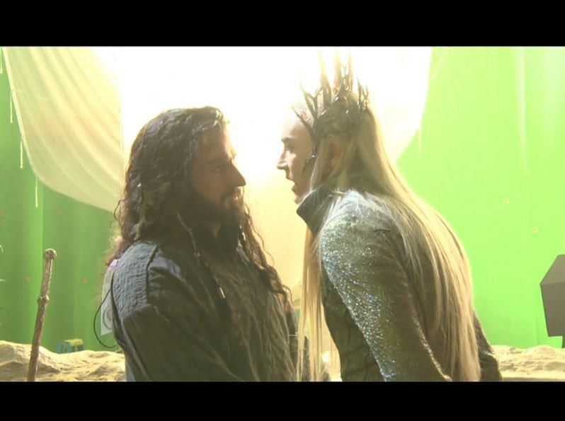 I can't wait to see Richard Armitage & Lee Pace on screen together!!!!  Thorin and Thranduil