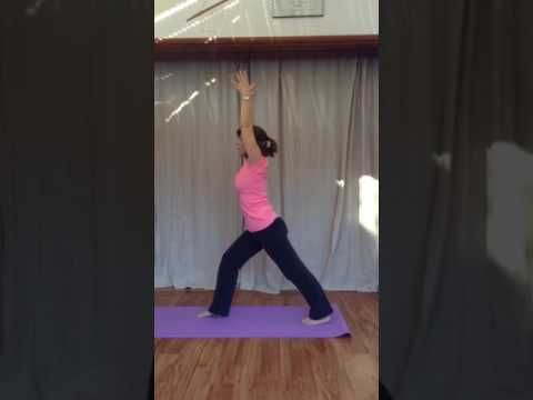 yoga sun salutation for knee replacement  youtube  sun