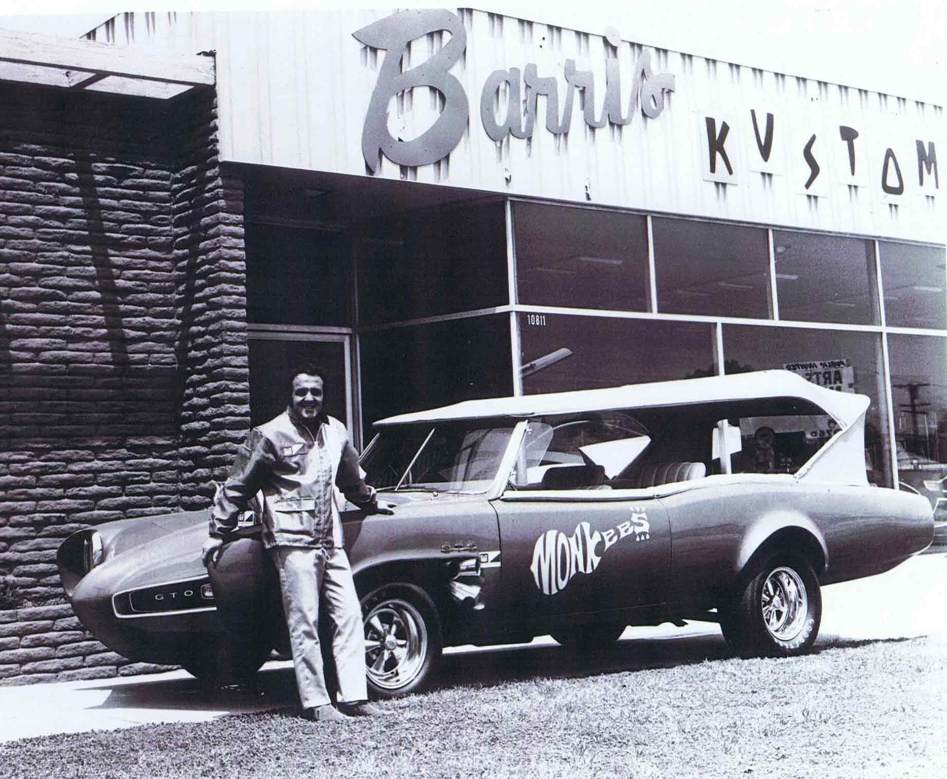 why is george barris getting credit for the monkeemobile wish rh pinterest com