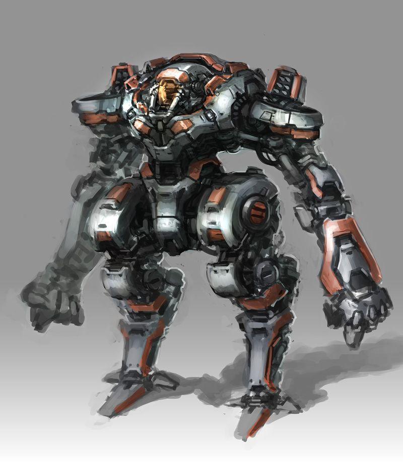robot science fiction concept - photo #22