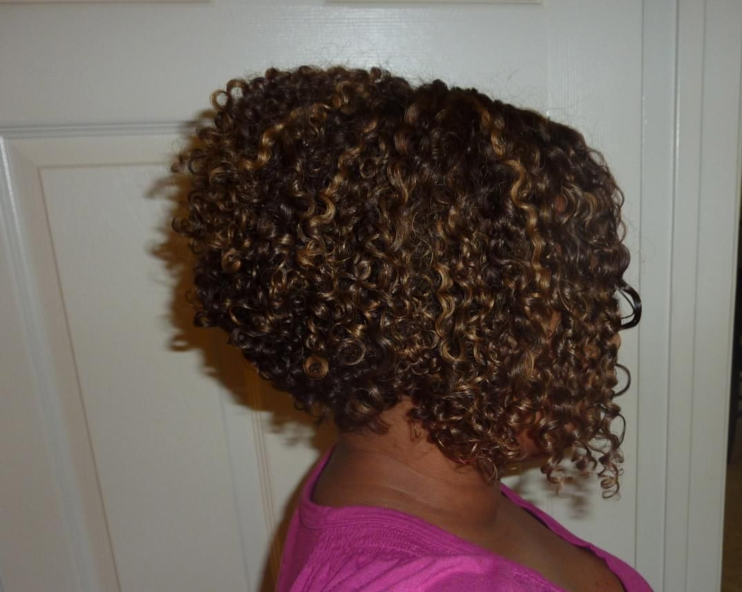 stacked curly bob Have to try this!!