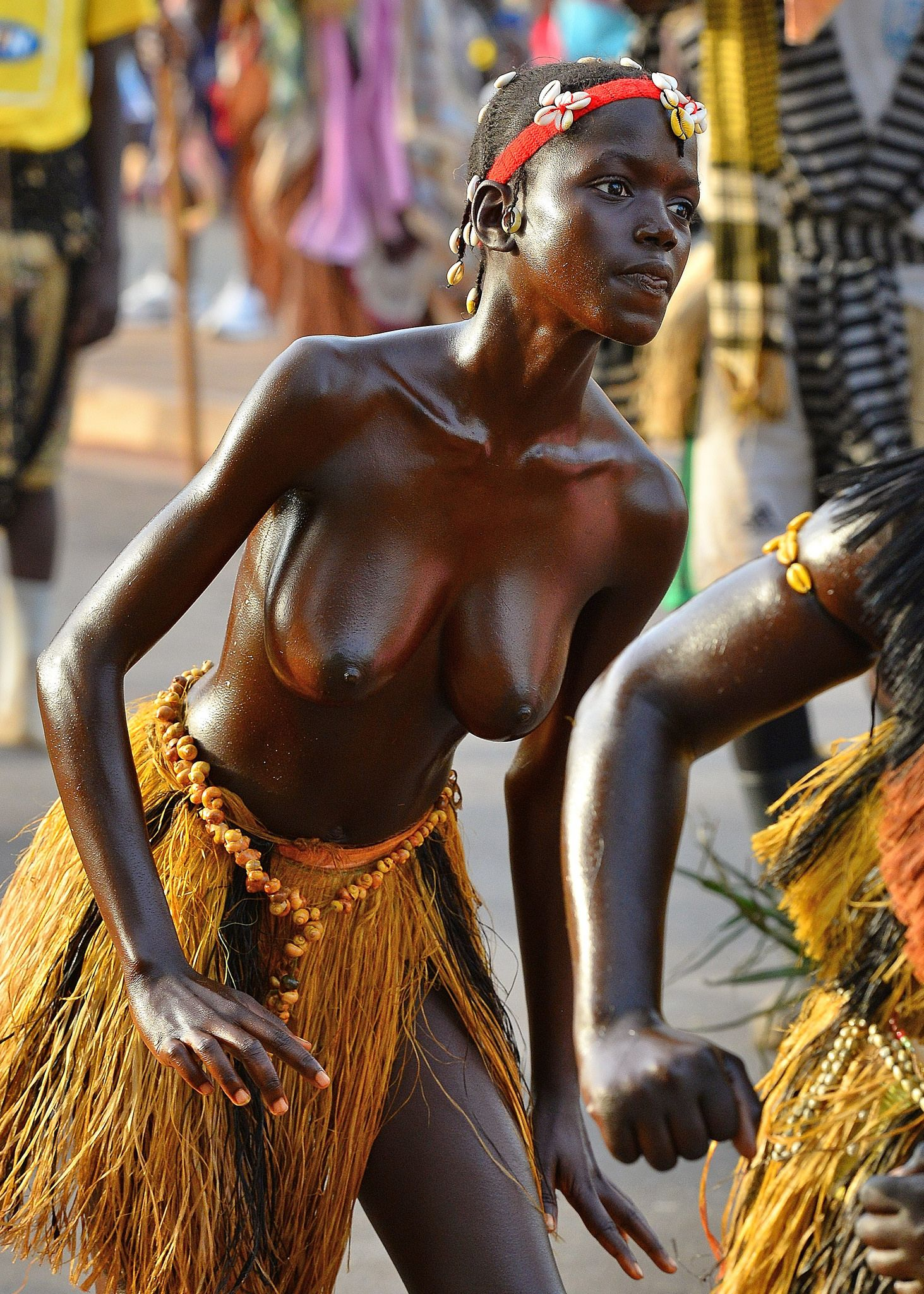 Topless African Tribes Women
