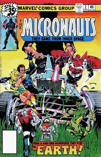 Micronauts #2 (Feb '79) cover by Michael Golden & Joe Rubinstein. ‪#‎comics‬