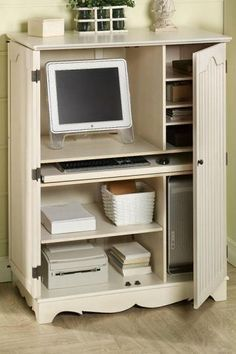 Computer Desk Cabinet, Perfect Idea For Dining Room
