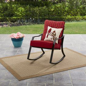 Swell Mainstays Belden Park Outdoor Glider Chair Outdoor Living Pdpeps Interior Chair Design Pdpepsorg