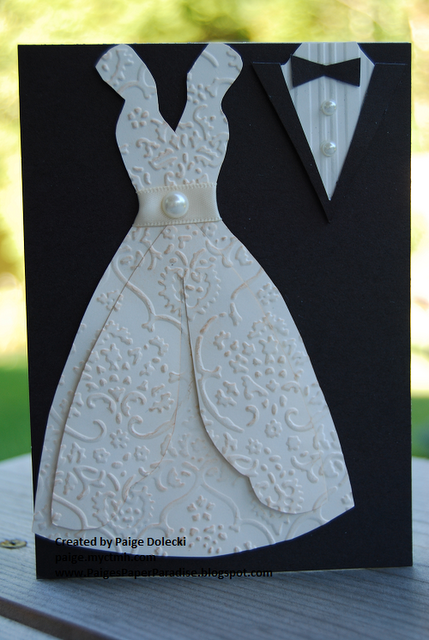 Gown Tux Card