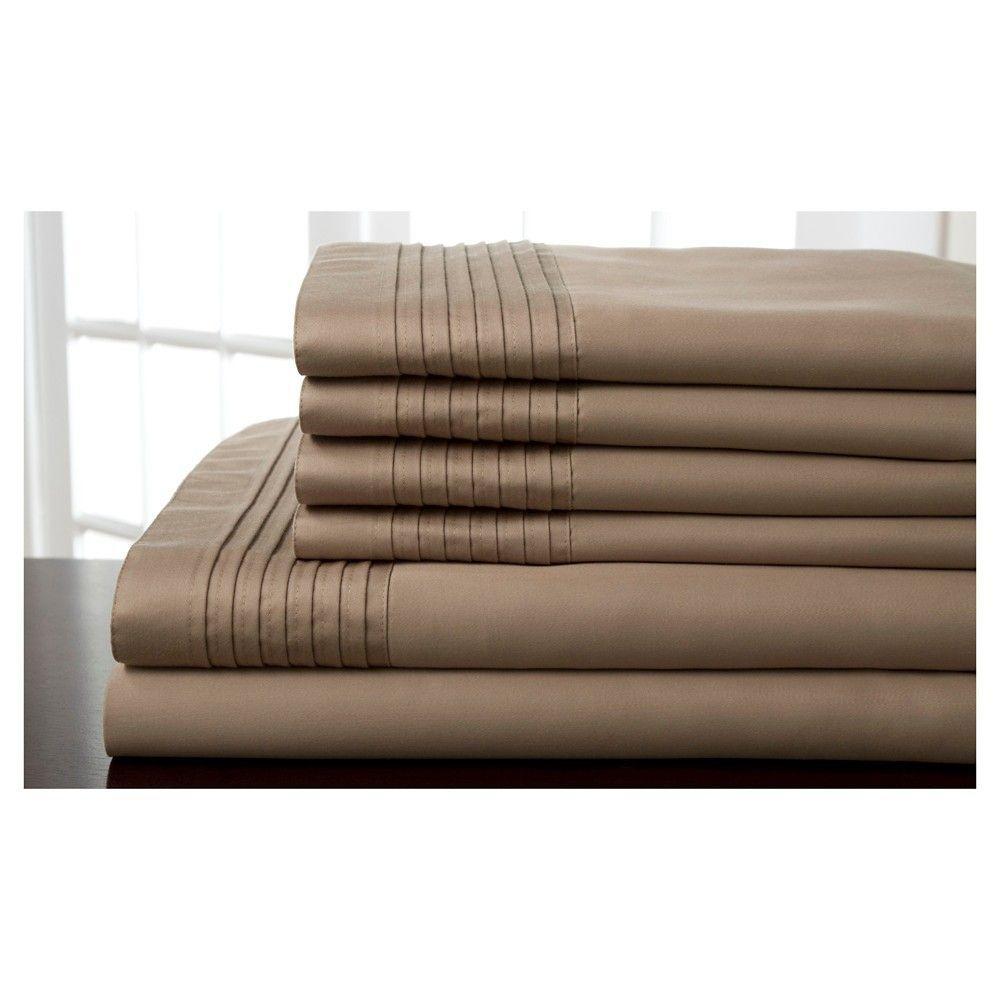 Lancaster thread count sheet set king ivory elite home