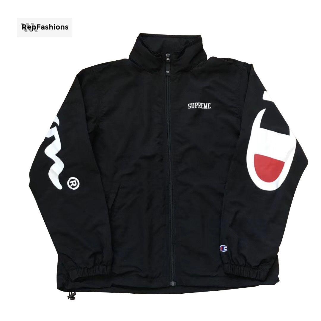 fake supreme jacket