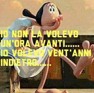 Ora Legale Impara A Parlare Italiano Troppo Divertente