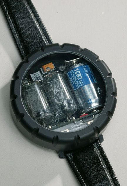 be200e9b830 Nixie Tube Wristwatch. Coolest. Watch. Ever