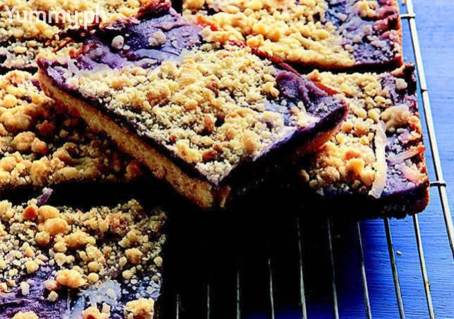 Buko-Ube Streusel Bars (omit buko is unavailable, sprinkle/replace with toasted coconut?