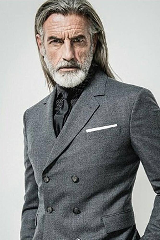 Silver Model Management Paris Coiffure Homme Top Modeles Barbe Homme
