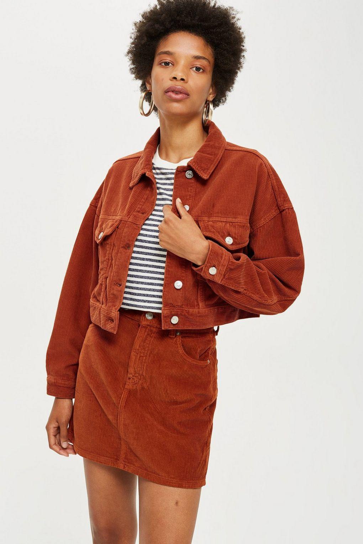 50a39ae233 Rust Corduroy Jacket in 2019 | s t y l e | Corduroy jacket, Corduroy ...