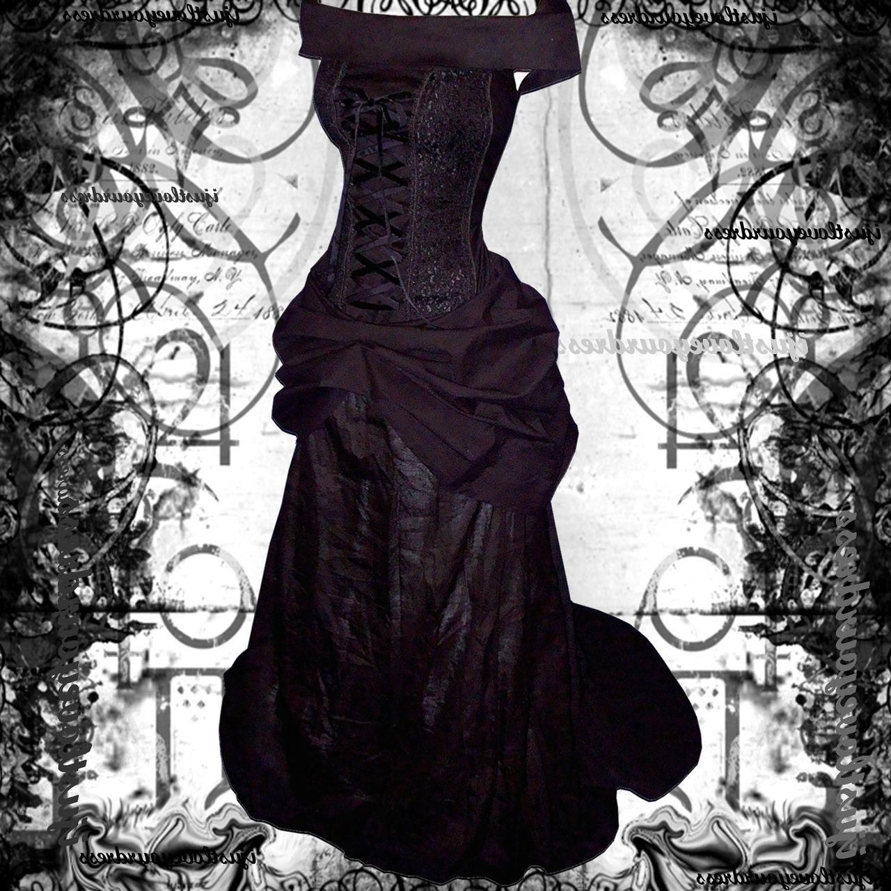 Gothic wedding gothic black wedding dresses